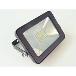 LED reflektor obdélníkový 15W černý