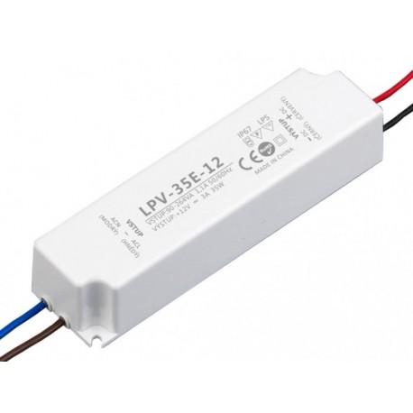 LED zdroj 12V 35W - LPV-35E-12V IP67