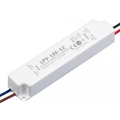 LED zdroj 12V 18W - LPV-18E-12V IP67