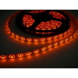 LED pásek 4.8W, 60 LED, Zalitý IP 50 - Oranžový