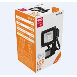 LED reflektor 10W s PIR pohybovým čidlem