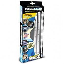 Bateriové LED podsvícení s čidlem