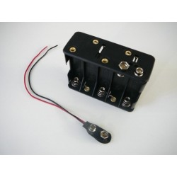 Držák baterie 10XR6/AA/UM3