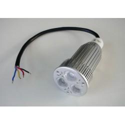 RGB LED žárovka 12W 60° 12VDC - RGB