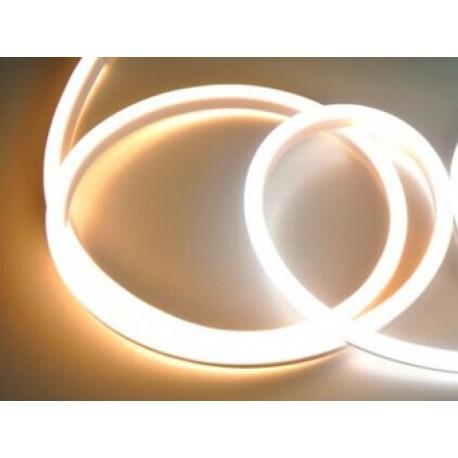 LED NEON pásek 230V - Teple bílý