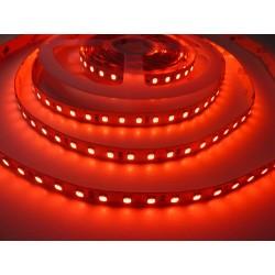 LED pásek 24V HQ 120LED 9.6W vnitřní - Červená
