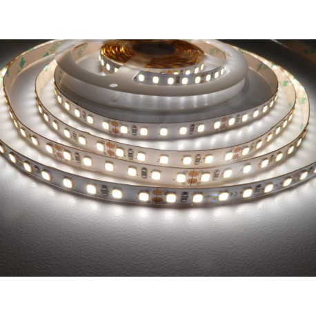 LED pásek 24V HQ 120LED 9.6W vnitřní - Denní bílá