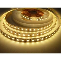 LED pásek 24V HQ 120LED 9.6W vnitřní - Teplá bílá