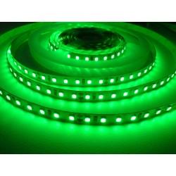 LED pásek 24V HQ 120LED 9.6W vnitřní - Zelená