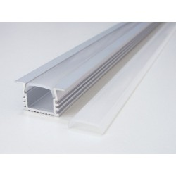 LED profil V6 - vestavný - Profil bez difuzoru
