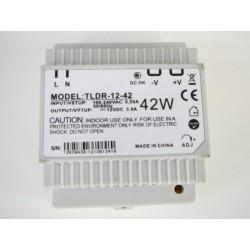 LED zdroj 12V 42W na DIN lištu -TLDR-12-42