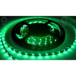 LED pásek 4.8W, 60 LED, Nezalitý IP 20 - Zelený