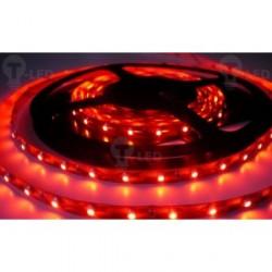 LED pásek 4.8W, 60 LED, Nezalitý IP 20 - Červený
