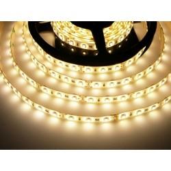 LED pásek 4.8W, 60 LED, Zalitý IP 50 - Teplá bílá