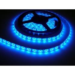 LED pásek 4.8W, 60 LED, Zalitý IP 50 - Modrý