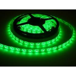 LED pásek 4.8W, 60 LED, Zalitý IP 50 - Zelený