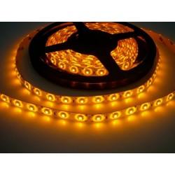LED pásek 4.8W, 60 LED, Zalitý IP 50 - Žlutý