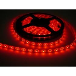 LED pásek 4.8W, 60 LED, Zalitý IP 50 - Červený