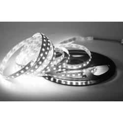 LED pásek 12W, 60 LED, Nezalitý IP 20 - Studená bílá Avide