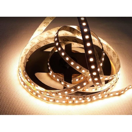LED pásek 20W, 120 LED, Nezalitý IP 20 - Teplá bílá Avide