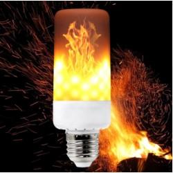 LED žárovka E27 s efektem hořícího ohně