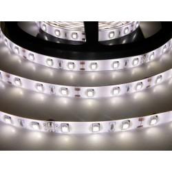 LED pásek 12W, 60 LED, Zalitý IP 50 - Denní bílá