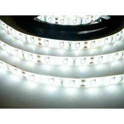LED pásek 12W, 60 LED, Zalitý IP 50 - Studená bílá