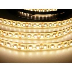 LED pásek 9.6W, 120 LED, Zalitý IP 50 - Teplá bílá