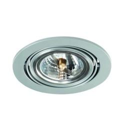 Podhledové svítidlo AR111 ARTO 1O-SR stříbrné - ARTO 1O-SR stříbrný AR111 kulatý podhledový rámeček