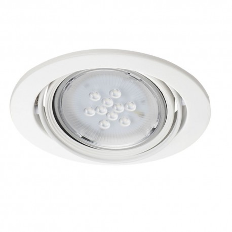 Podhledové svítidlo AR111 ARTO 1O-W bílé - ARTO 1O-W bílý AR111 kulatý podhledový rámeček