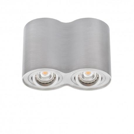 Přisazené svítidlo BORD DLP-250-AL stříbrné - BORD DLP-250-AL stříbrné přisazené bodové svítidlo
