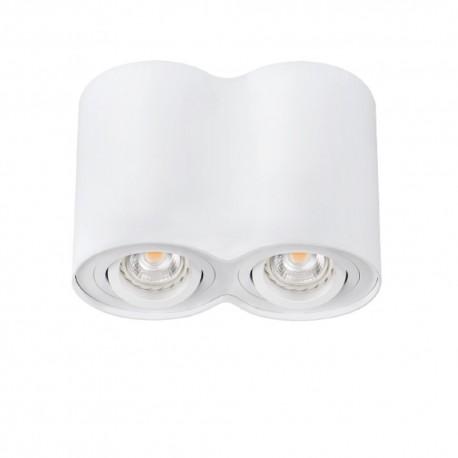 Přisazené svítidlo BORD DLP-250-W bílé - BORD DLP-250-W bílé přisazené bodové svítidlo