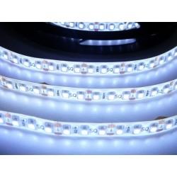 LED pásek 9.6W, 120 LED, Zalitý IP 50 - Studená bílá