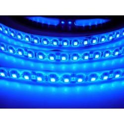 LED pásek 9.6W, 120 LED, Zalitý IP 50 - Modrý