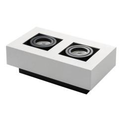 Přisazené svítidlo STOBI 250-W bílé - STOBI DLP 250-W bílé přisazené bodové svítidlo