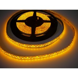 LED pásek 9.6W, 120 LED, Zalitý IP 50 - Žlutý