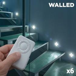 LED Osvětlení WalLED Mini s Dálkovým Ovládáním (balení po 6)