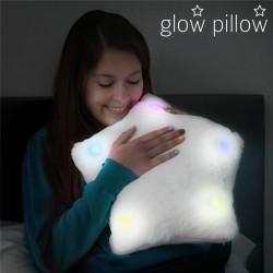 LED Polštář ve Tvaru Hvězdy Glow Pillow