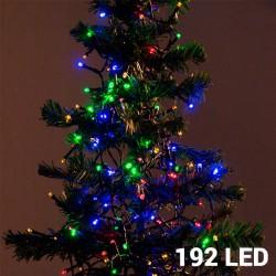 Barevné Vánoční Osvětlení (192 LED)