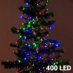 Barevné Vánoční Osvětlení (400 LED)