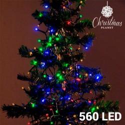 Barevné Vánoční Osvětlení (560 LED)