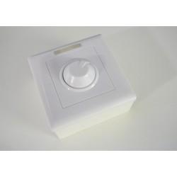 Manuální LED ovladač stmívač M2 pro jednobarevné LED pásky