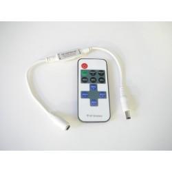 Dálkový LED ovladač RF mini pro jednobarevné LED pásky