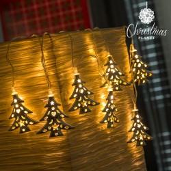 LED Řetěz Vánoční Stromek Christmas Planet (10 LED)