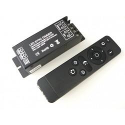 Luxusní dálkový LED ovladač RF25 pro jednobarevné LED pásky
