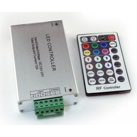 Dálkový LED radio ovladač RF6 pro RGB LED pásky