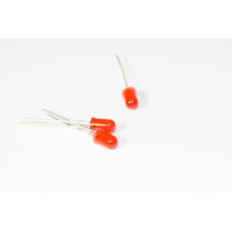 LED dioda 5mm červená
