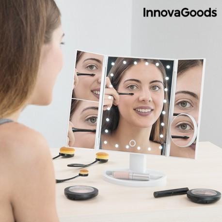 Zvětšující Zrcadlo s LED 4 v 1 InnovaGoods