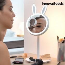 LED Dotykové Zrcadlo na Líčení 2 v 1 Mirrobbit InnovaGoods