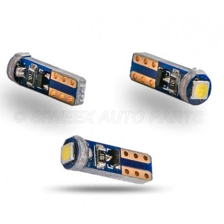 LED žárovka T5 W3W smd 3030 bílá